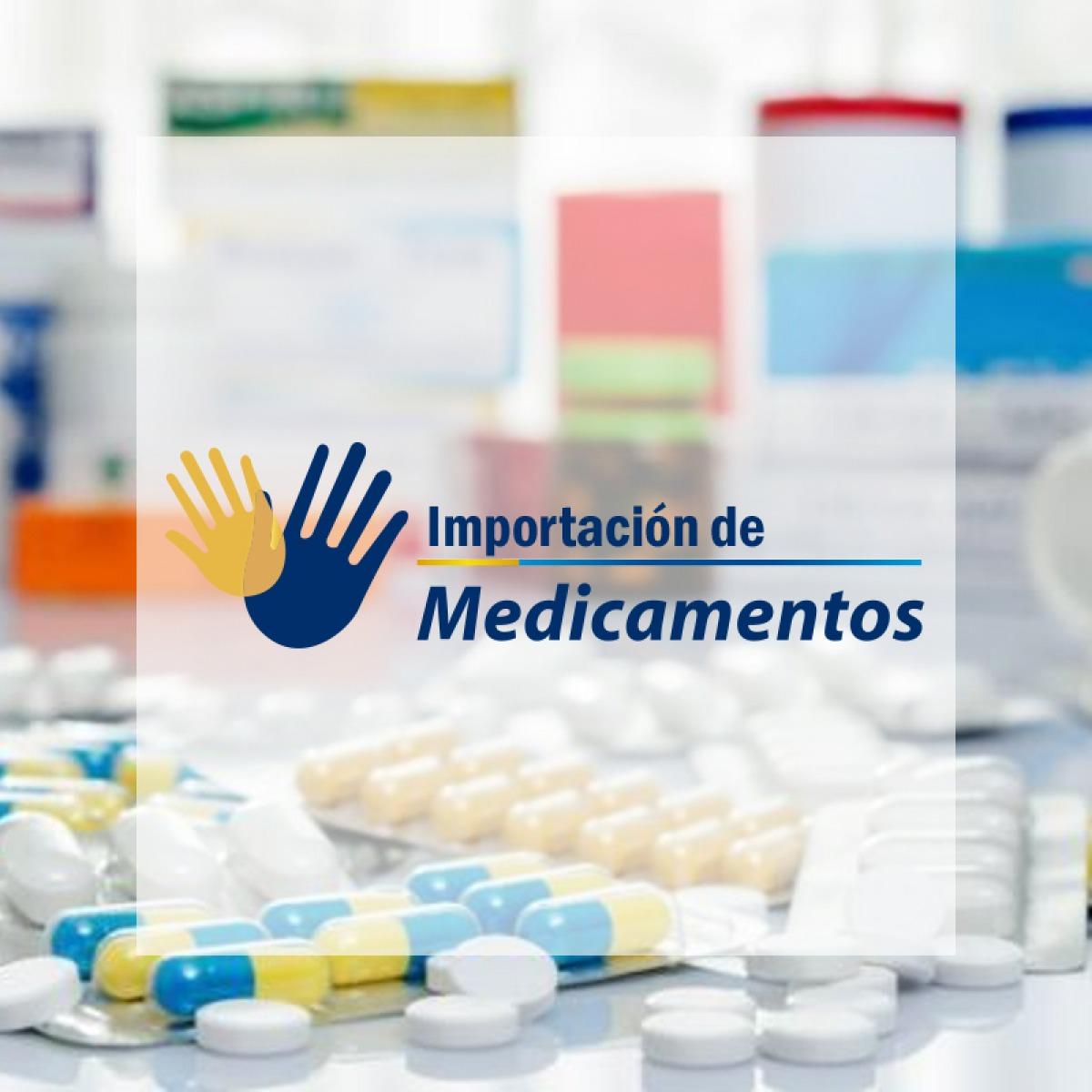 Algunos de los medicamentos que importamos